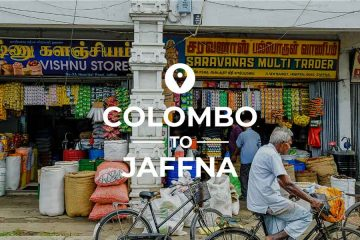 Colombo to Jaffna train, bus or taxi