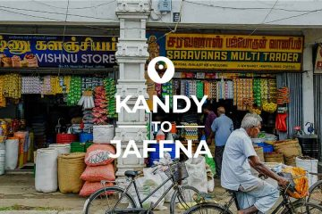 Kandy to Jaffna train bus or taxi