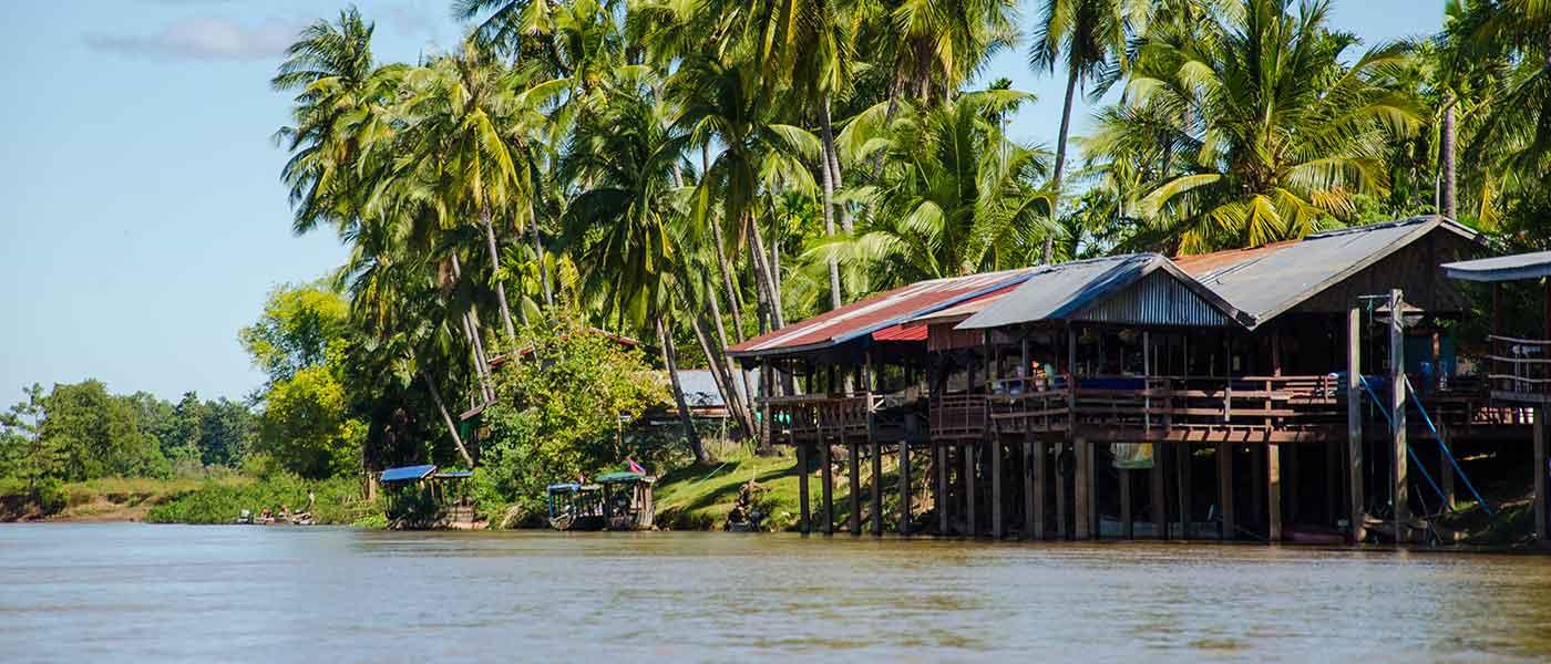 Don Det Mekong river