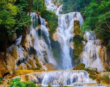 uang Si Waterfall Luang Prabang
