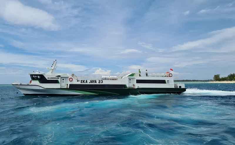 Ekaja ferry from Bali to Gili Islands