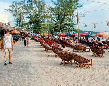Sihanoukville main beach