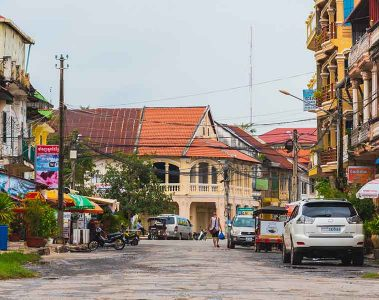 Centre of Kampot