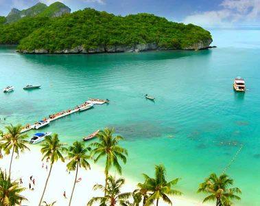 Koh Samui beach view