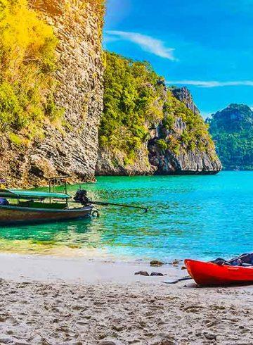 Krabi beach Thailand