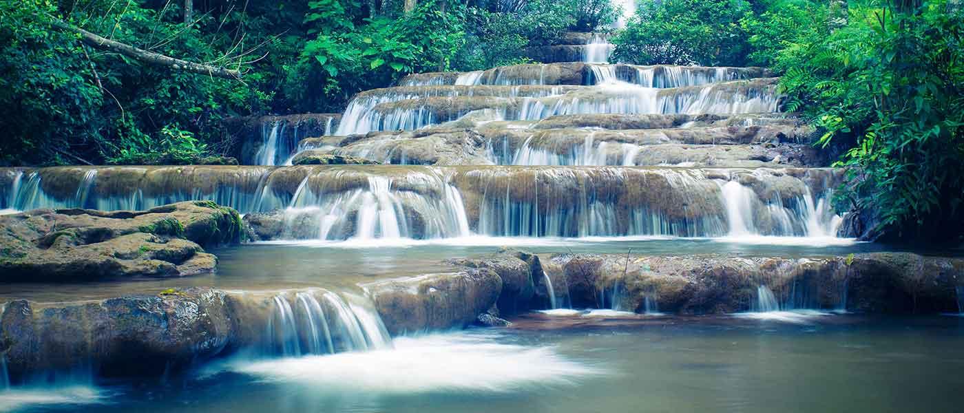 Mae Sot Thailand waterfall