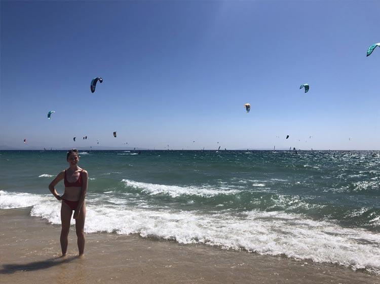 Playa Valdevaqueros in Tarifa