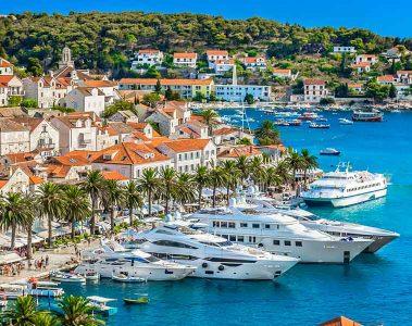 Split to Hvar Ferry-Croatia