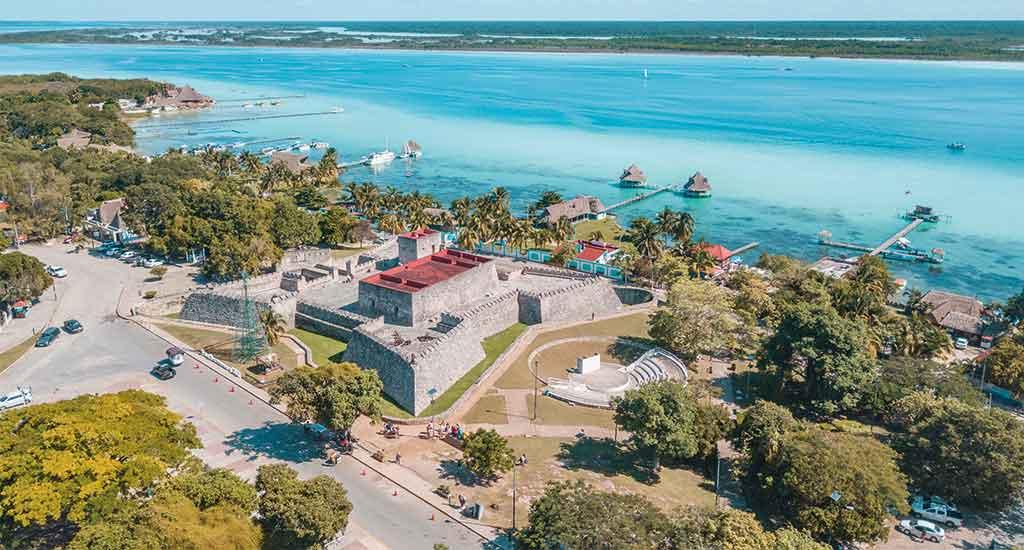Bacalar pier Mexico