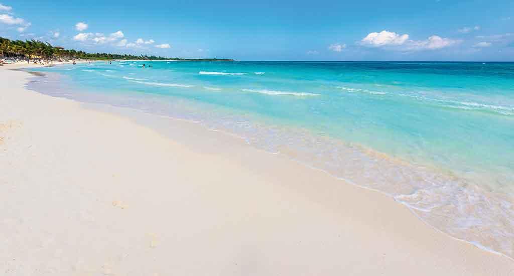Xpu Ha beach in Playa del Carmen Mexico