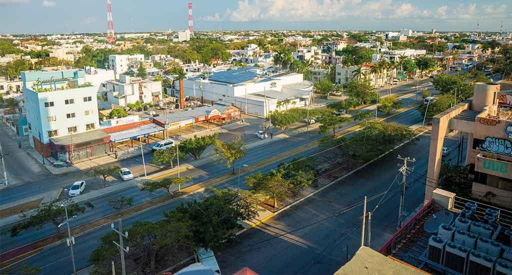 Downtown Cancun Mexico
