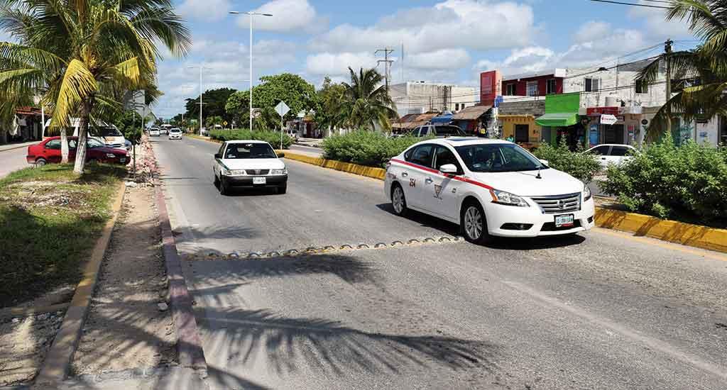 Taxi in Tulum Mexico
