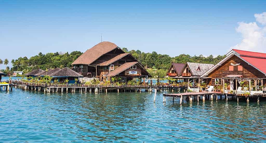 Bangbao Fishing Village in Koh Chang