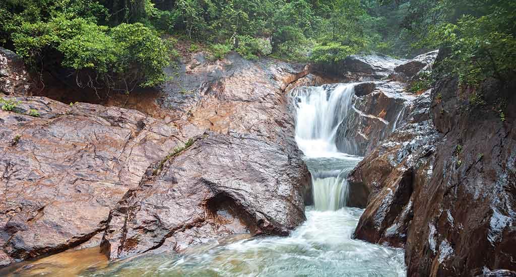 Than Mayom Waterfall in Koh Chang