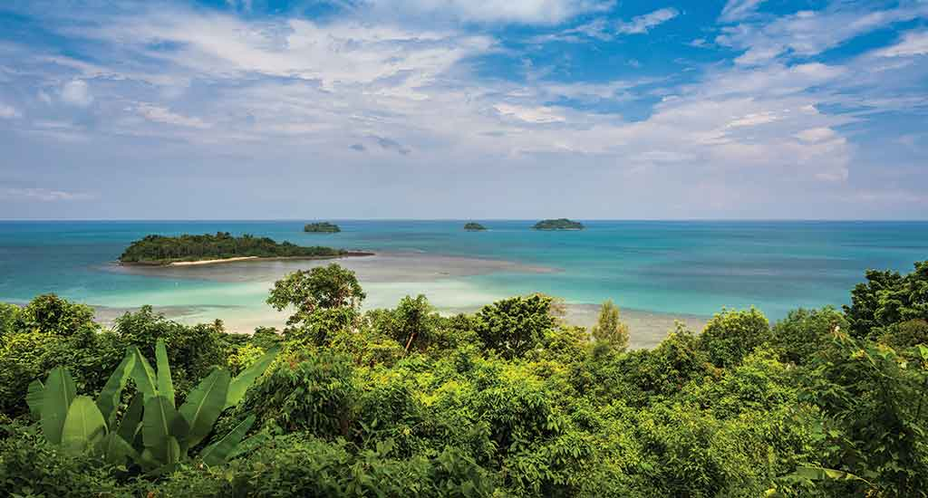 Kai Bae view point in Koh Chang