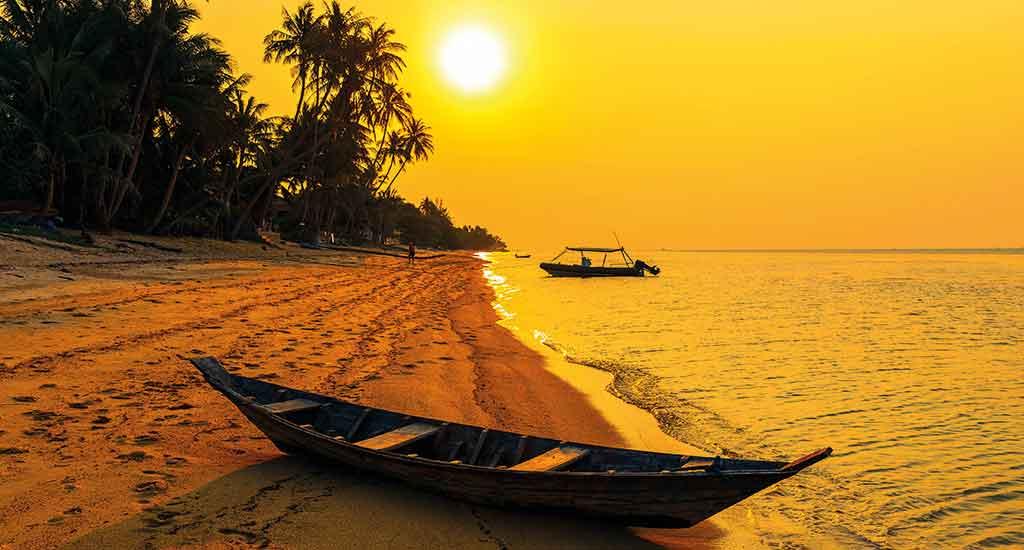 Bang Por Beach at Koh Samui