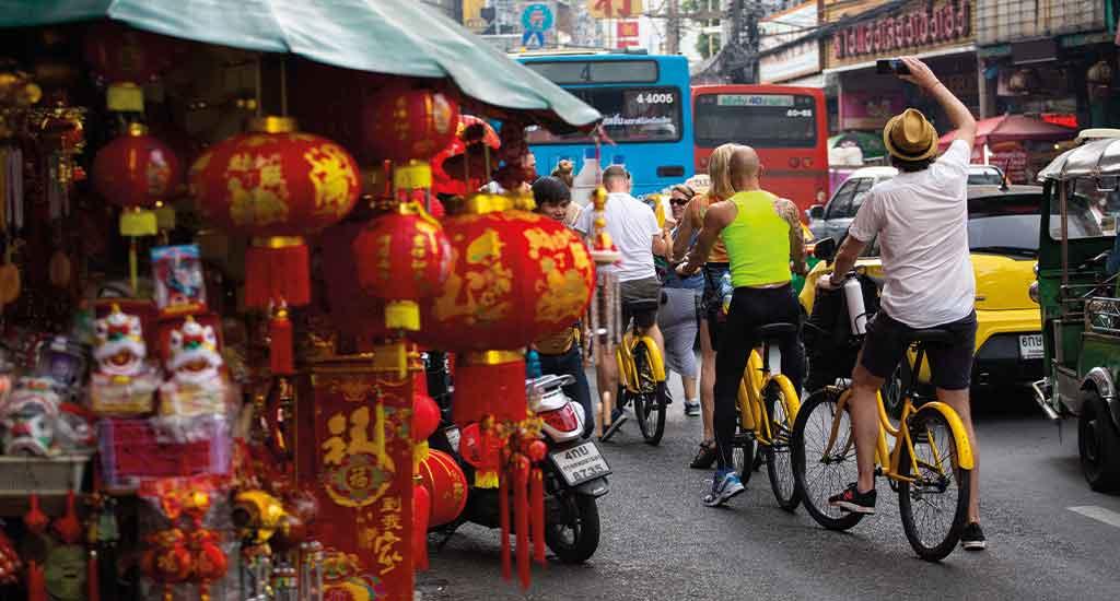 Bike tour Bangkok