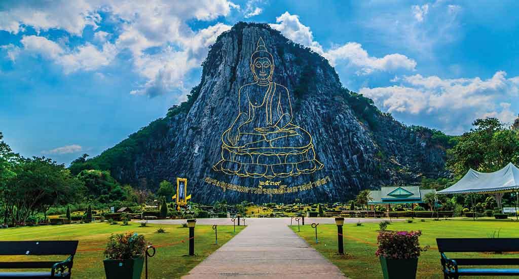 Khao Chi Chan Mountain in Pattaya