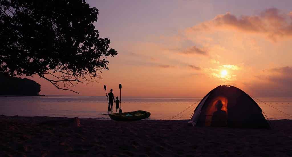 Camping at Ang Thong National Marine Park, Koh Phangan