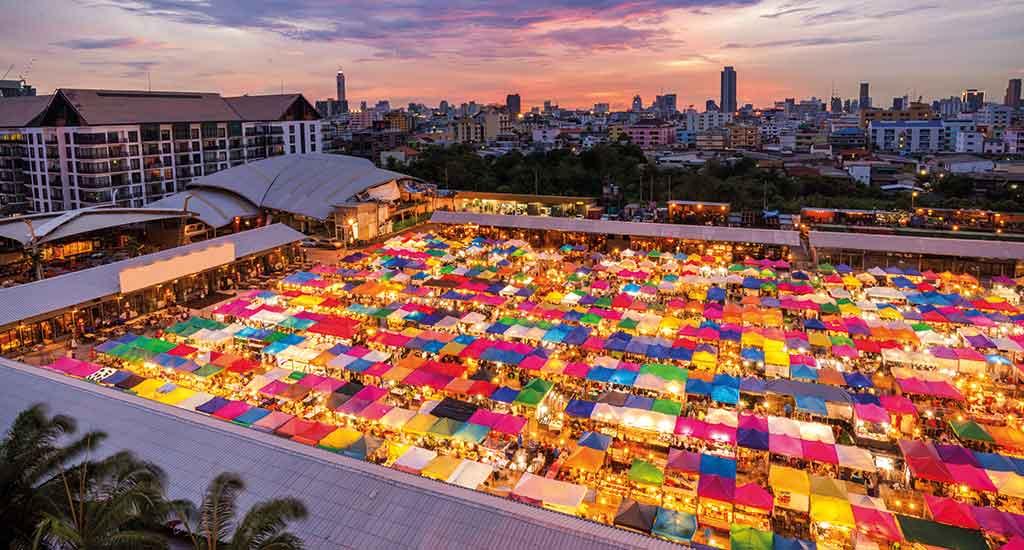Chatucha marktet Bangkok