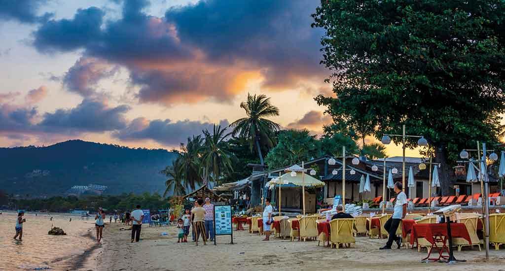 Chaweng Beach at Koh Samui