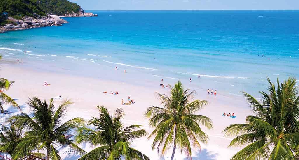 Haad Rin Beach at Koh Phangan
