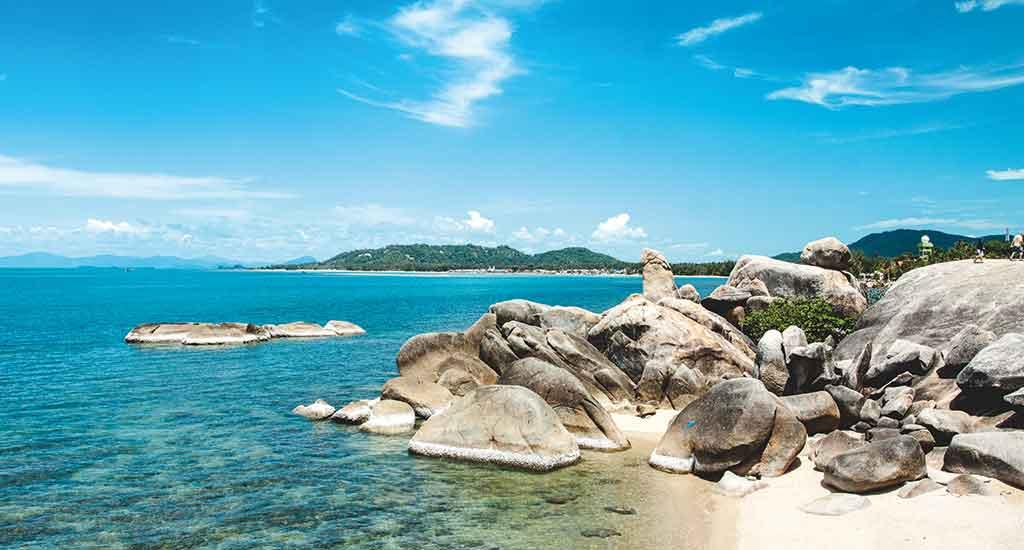 Hin Ta and Hin Yai rocks in Koh Samui