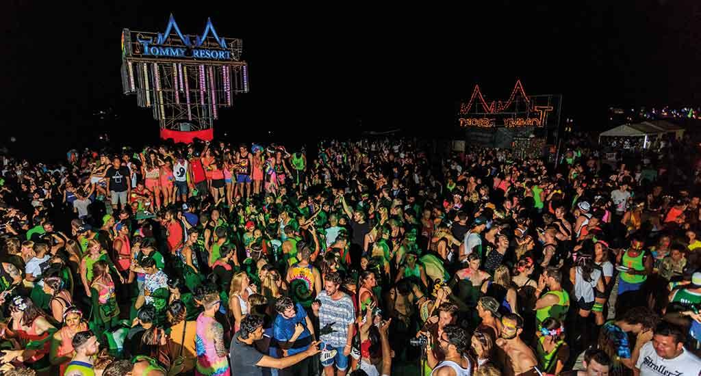 Full Moon party in Koh Phangan