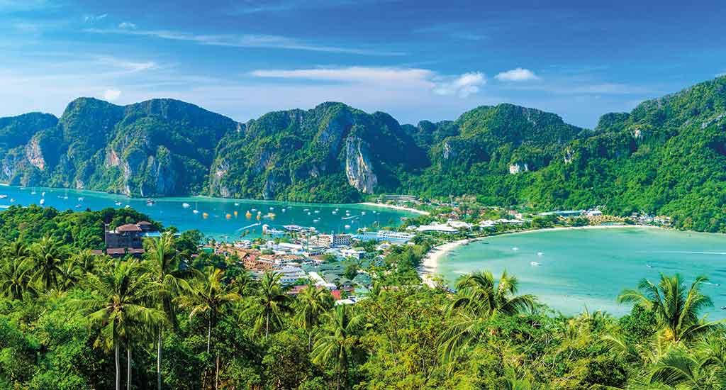 Koh Phi Phi Don viewpoint paradise bay