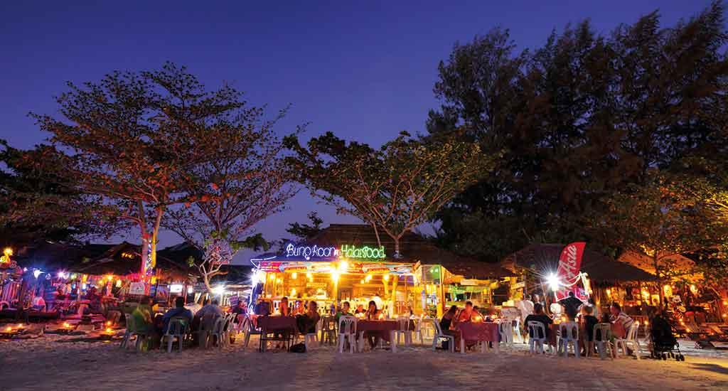 Dinner on the beach at Koh Lipe