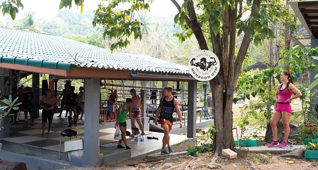 Muay Thai Gym at Koh Tao