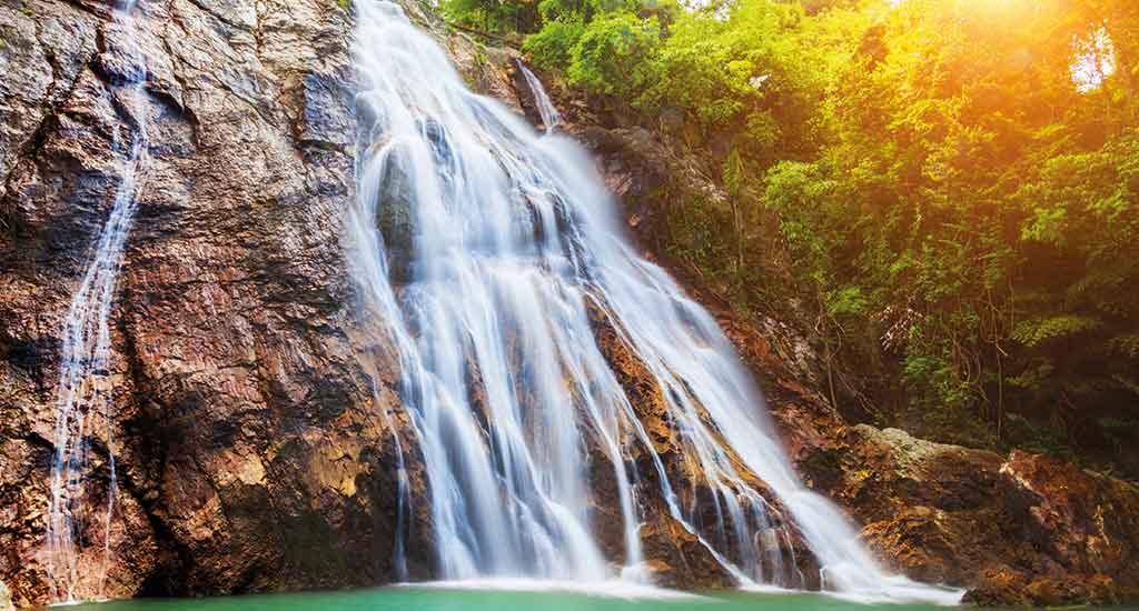 Na Muang 1 waterfall, Koh Samui