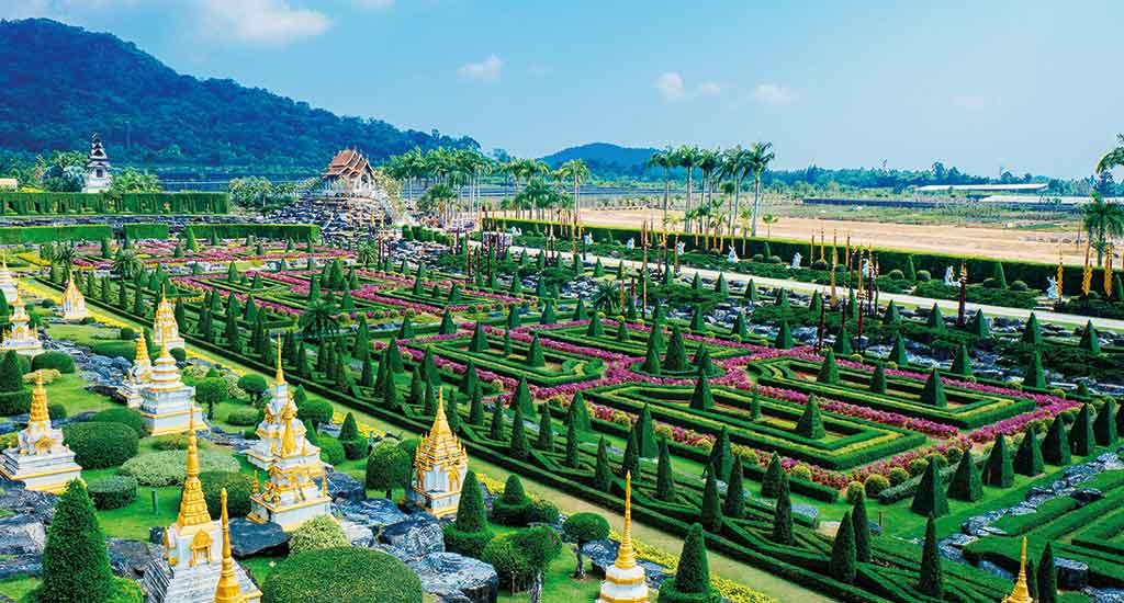Nong Nooch Tropical Botanical Garden in Pattaya