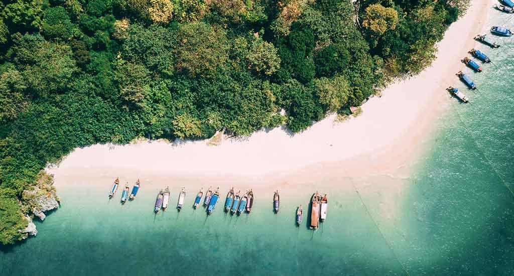 Phra Nang beach at Krabi