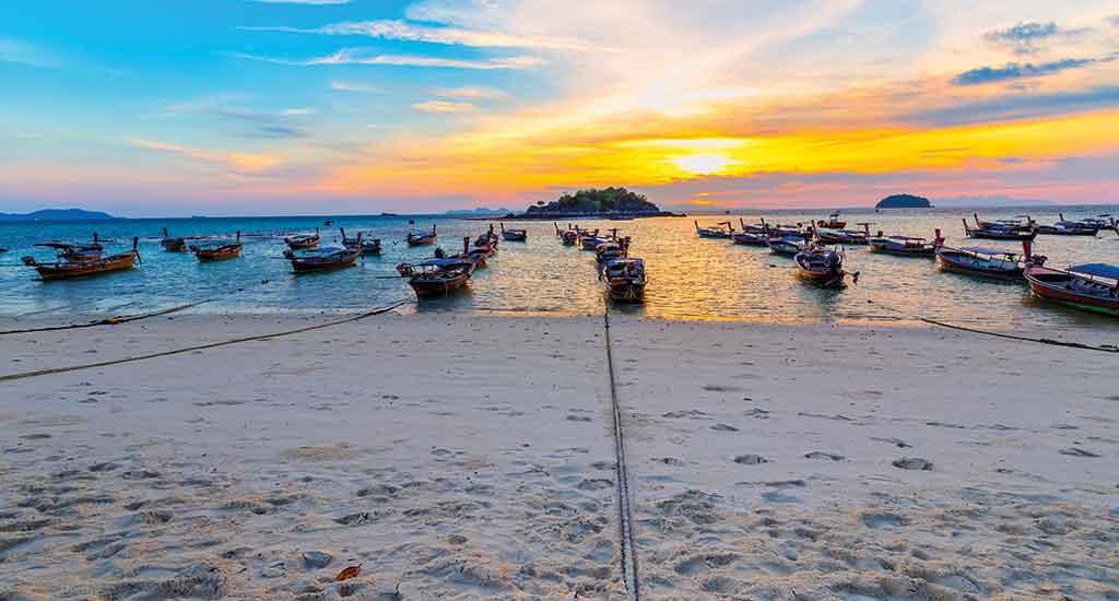 Sunrise at Sunrise Beach at Koh Lipe
