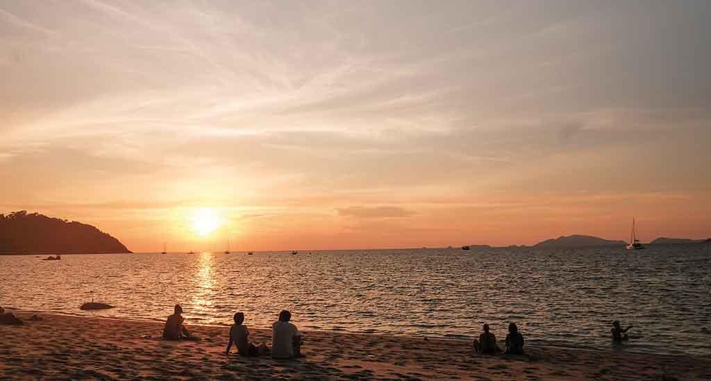 Sunset Beach at Koh Lipe
