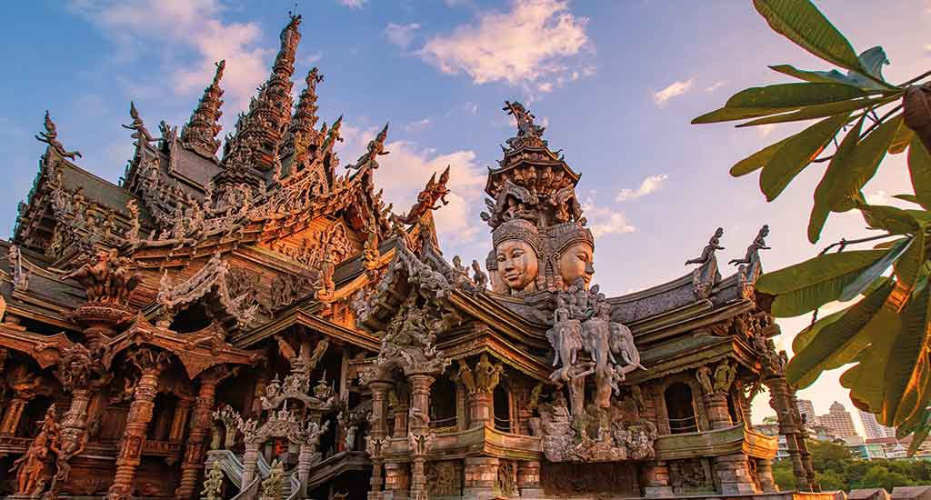 Temple of Truth in Pattaya