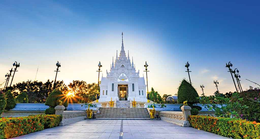 The City Pillar Shrine of Surat Thani