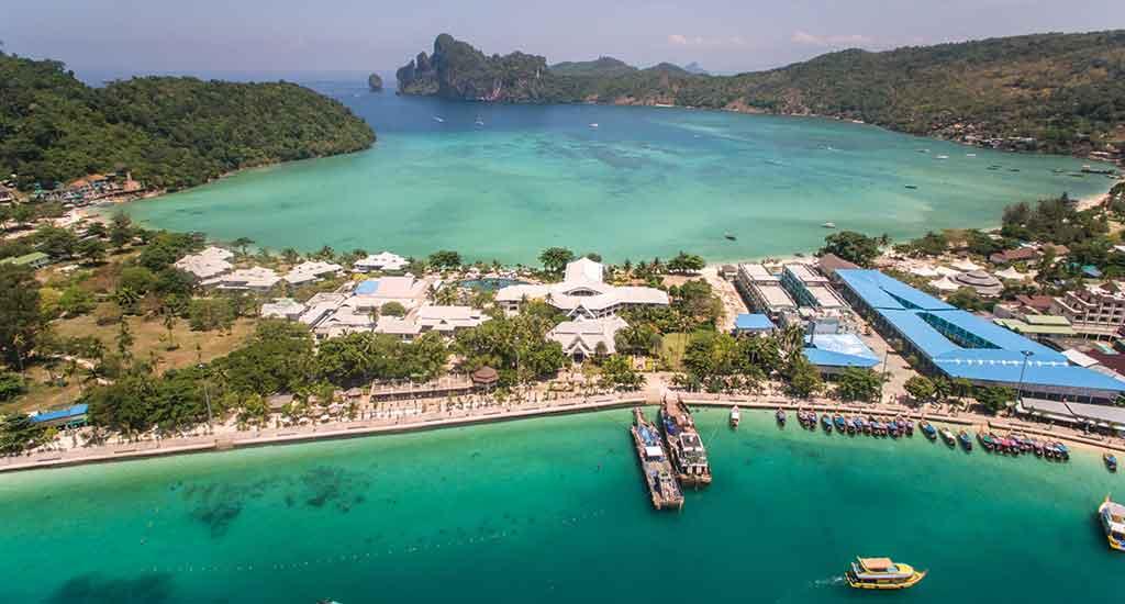 Tonsai and Loh Dalum Bay at Koh Phi Phi