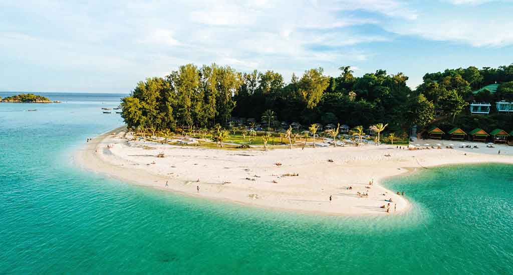 North point beach at Koh Lipe