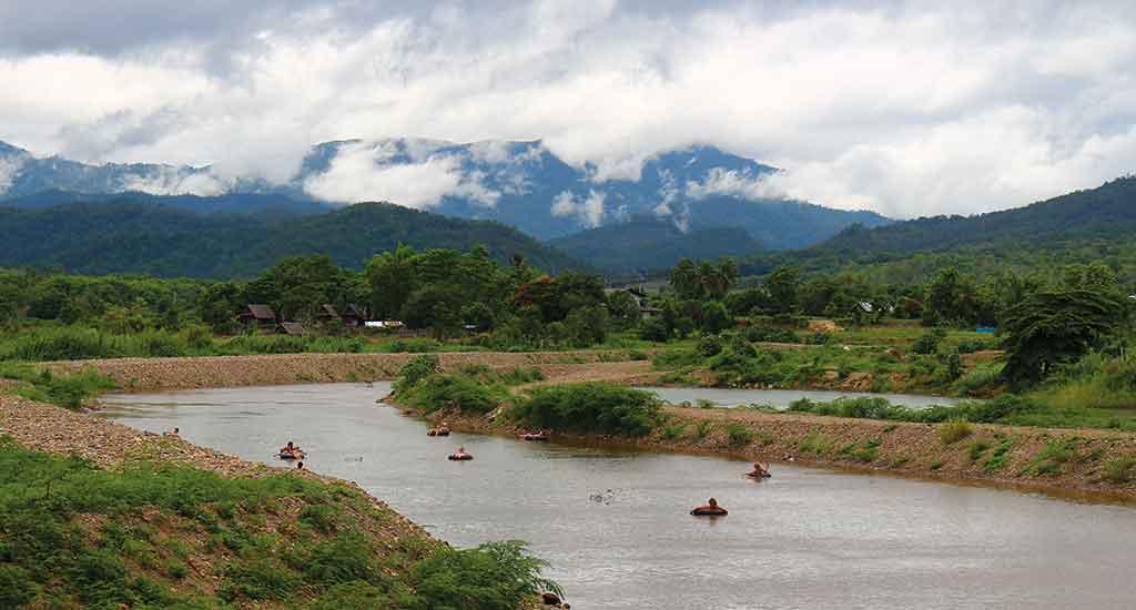 River Tubing in Pai