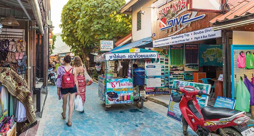 Walking Street at Koh Lipe