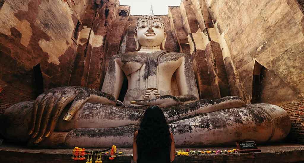 Phra Achana of Wat Si Chum Temple in Sukhothai