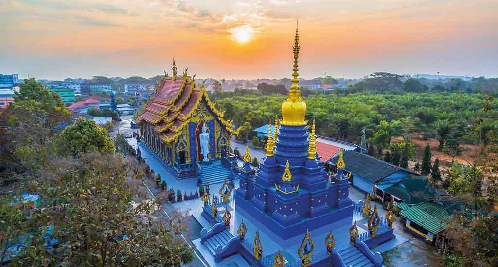 Chiang Rai Blue Temple of Wat Rong Sua Ten