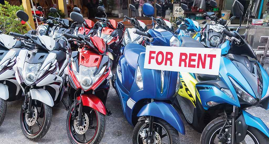 Motorcycle for Rent in Thailand