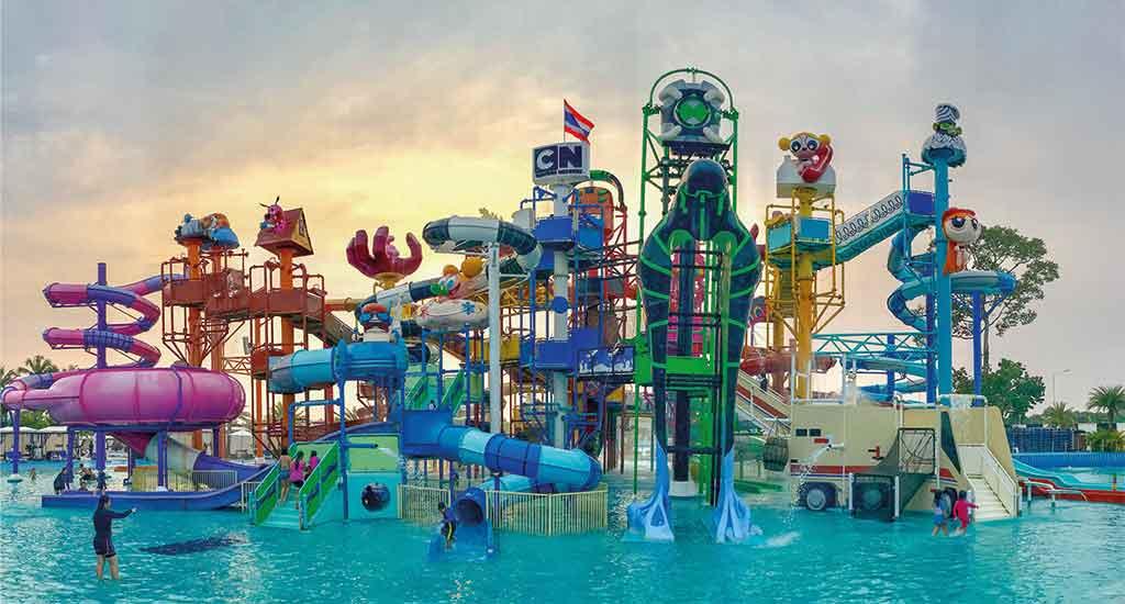 Cartoon Network Amazone Waterpark in Pattaya