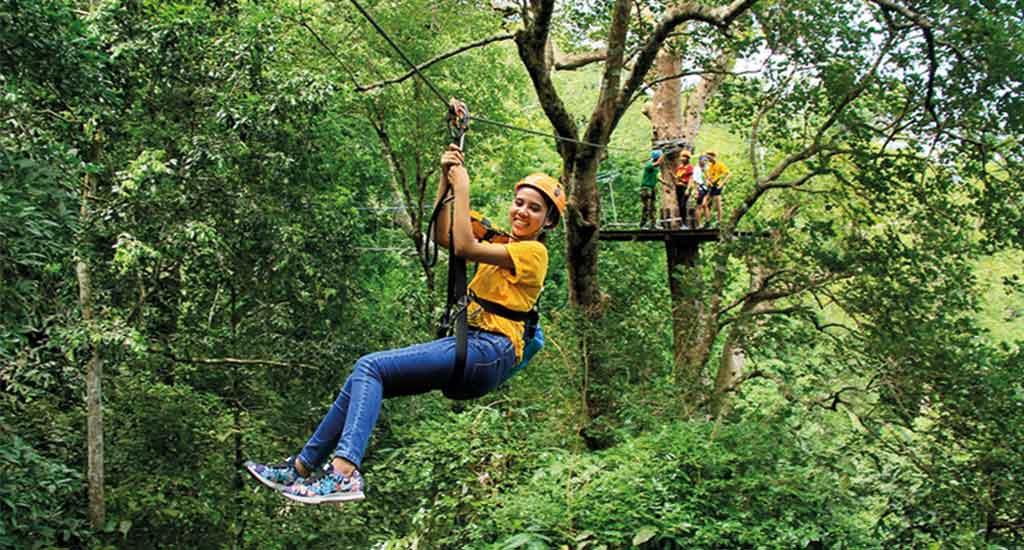 Ziplining Pattaya