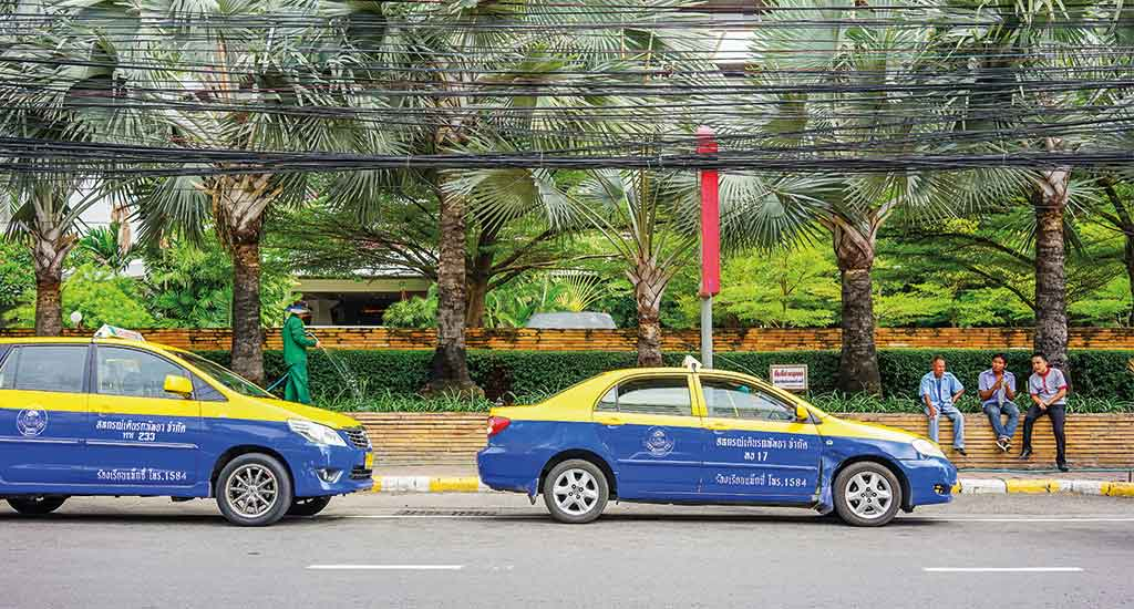 Taxi's in Pattaya