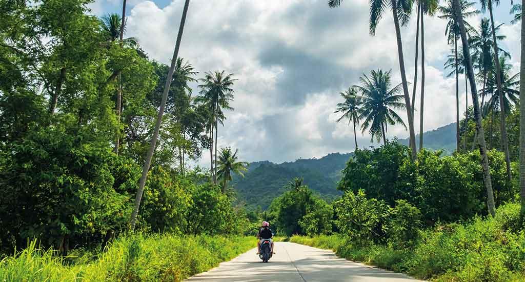 Motorbike on Koh Samui