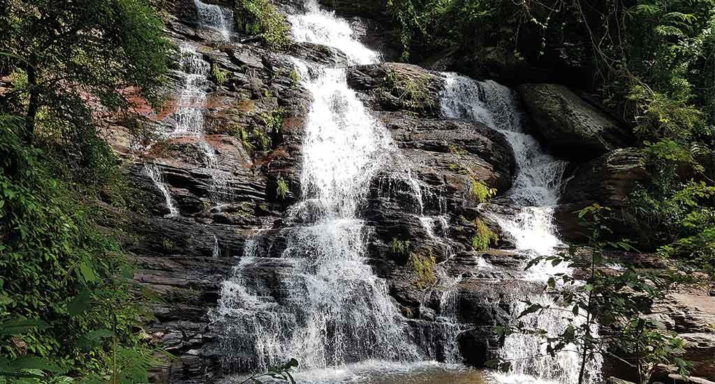 Waterfalls at Ramkhamhaeng National Park